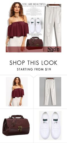 """SheIn 3/VIII"" by saaraa-21 ❤ liked on Polyvore featuring WithChic and shein"