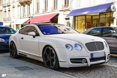 "mo' money = big wheels.  ""Bentley Mansory GT63 by Alexandre Prévot, via Flickr"""