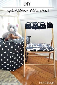 DIY Kids Chair Makeo