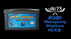 Asteroids (1979/2005) - Nintendo GBA - Score 28790