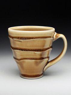 Ryan Greenheck Honey Slip Mug at MudFire Gallery