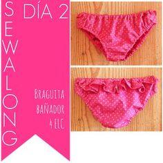 4 EN LA CARRETERA. Handmade: DÍA 2: CC BRAGUITA-BAÑADOR / DAY 2 SWIMSUIT SEWALONG