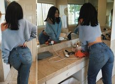 Levi's starts selling Wedgie Fit Jeans in January — and Kylie Jenner took to Instagram to show off how they look on her.