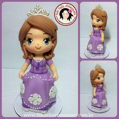 Topo de bolo, princesa Sofia, sofia, princesa, biscuit, festa infantil, cabo de santo agostinho,