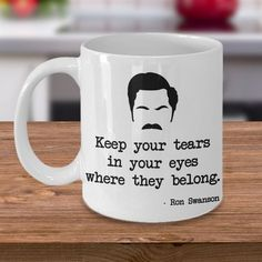 Trendy Ideas breakfast quotes parks and rec Parks And Rec Gifts, Parks And Rec Ron, Parks And Rec Quotes, Parks And Recreation, Best Friend Mug, Friend Mugs, Funny Coffee Mugs, Coffee Humor, Ron Swanson Quotes
