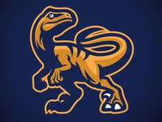 Raptor sport mascot by bazzier graphik Typography Logo, Logo Branding, Sports Team Logos, Esports Logo, Mascot Design, Animal Logo, Pictogram, Cool Logo, Logo Design Inspiration