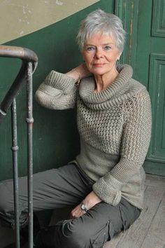 13.Short Hair Cut For Older Women