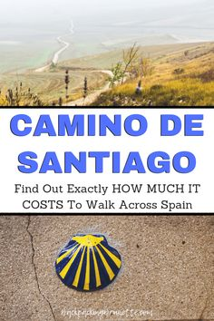 Planning travel to Spain? Check out one of the best hikes in the world: the Camino de Santiago! James will take your across the Spain countryside. Find out how much it costs to walk the Camino de Santiago! El Camino Pilgrimage, Spain Pilgrimage, Camino Trail, The Camino, Camino Walk, Best Cities In Spain, Andalucia Spain, Ibiza Spain, Walking
