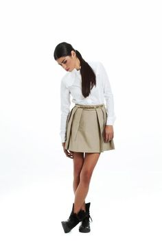 Trench skirt Social Club, Trench, Designers, Skirts, Skirt, Skirt Outfits, Petticoats