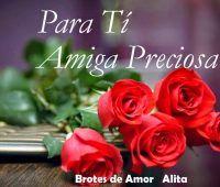 Imágenes de rosas para mi linda amiga