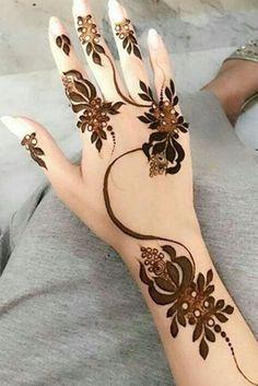 Most Lovely Hand Henna/Mehndi Designs for Girls