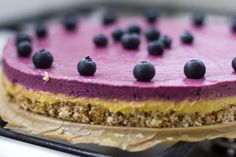 Vega taart met zomerfruit - Zoetrecepten