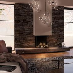 Living Room Decor Fireplace, Home Fireplace, Fireplace Remodel, Accent Chairs For Living Room, Fireplace Design, Interior Design Living Room, Living Room Designs, Cosy Home, Home Entrance Decor