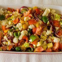 Ovenschotel met paprika en courgette : Koolhydraatarme recepten I Want Food, Gaps Diet, Side Dishes, Paleo, Food And Drink, Veggies, Low Carb, Tasty, Snacks