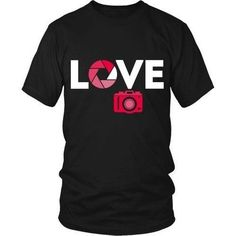 [product_style]-Love Photography T Shirt-Teelime