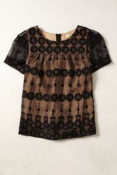 evelina blouse / anthropologie
