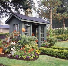 What to Use Storage Shed for Around the House - DIY Shed Plans Diy Storage Shed Plans, Wood Shed Plans, Diy Shed, Storage Sheds, Barn Plans, Smart Storage, Backyard Sheds, Outdoor Sheds, Outdoor Gardens