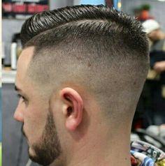 Great Haircuts, Haircuts For Men, Men's Haircuts, Fade Haircut, Barber Shop, Short Hair Cuts, Stylish, Hair Styles, Bathrooms