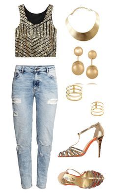 """""""We are golden. We are golden."""" by midori394 on Polyvore"""