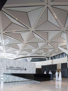 al bahr towers by aedas in abu dhabi, UAE #officedesign