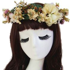 Find More Hair Accessories Information about High Quality Bride Accessory Daisy Flowers Hair Bridal Wedding Flower Garland Headbands Fabric Floral Crown Wreath,High Quality fabric bench,China fabric ruler Suppliers, Cheap fabric ventilation from Hair's Art Online Wholesale Store on Aliexpress.com