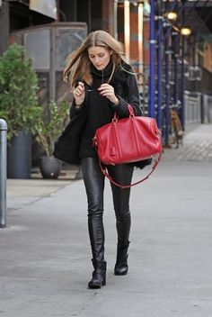 LOOK OF THE DAY: Olivia Palermo in New York.