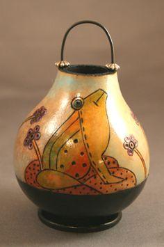 Pixie Critter Gourd