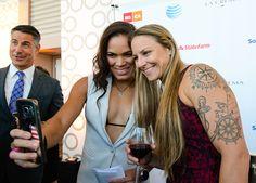 MMA fighter Amanda Nunes Currently dating fellow UFC fighter Nina Ansaroff