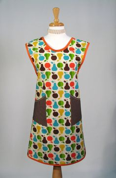 Full Apron Womens  ALL DAY Cover Up by SwankyPlaceAprons on Etsy, $27.50