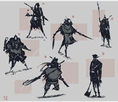 #Bloodborne inspired thumbnails #conceptart