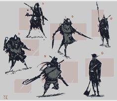 #Bloodborne inspired thumbnails #conceptart