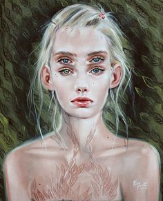 Evergreen Paintings by Alex Garant