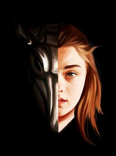 Arya Stark - Game of Thrones - HaNJiHye.deviantart.com