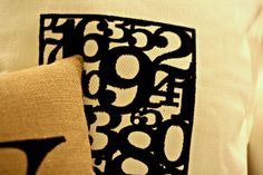 Fabric Ink Pillow
