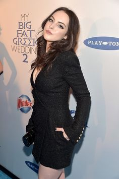 Elizabeth Gillies attends the 'My Big Fat Greek Wedding 2' New York premiere at AMC Loews Lincoln Square 13 theater on March 15, 2016 in New York City.