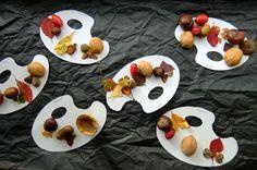 BAREVNÁ PALETA PODZIMU - sbírka přírodnin v různých adjustacích (konstruování přírodních materiálů) Crafts For Kids, Projects To Try, Food, Pallets, Preschool Crafts, Autumn, Meal, Kids Arts And Crafts, Essen
