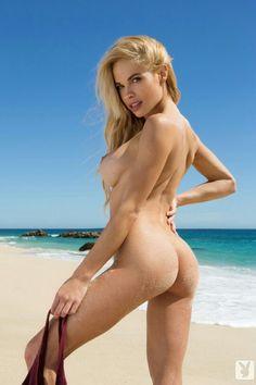 playboy nude ass hot babe beach