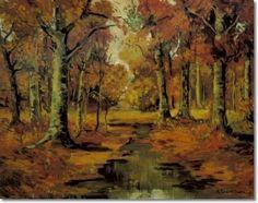 Robert Emmett Owen - חיפוש ב-Google Deep Forest, Tree Art, Fall Crafts, Painting, Blog, Autumn Crafts, Painting Art, Paintings, Blogging