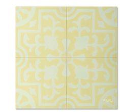 Jardin C44-16 encaustic tile from Mosaic House