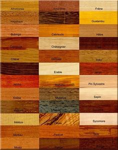 Bois recommandés   Chêne Le chêne est le feuillu le plus répandu en France, représentant 35% de la surface forestière en France. Ce bois dur est très utilisé pour la tonnellerie, la menuiserie et l'ébénisterie.  Epicéa et sapin L'épicéa commun est le plus haut des résineux indigènes, mesurant en général 30 à 50 mètres. Les vieux épicéas fournissent les bois dits de musiques ou de résonance et sont utilisés pour les violons, et autres instruments de musique. Le sapin est princ...