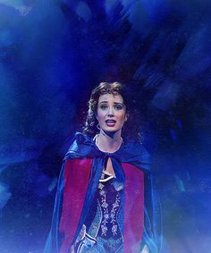 Sierra Boggess as Christine Daaé in The Phantom of the Opera 25 anniversary at the Royal Albert Hall in London.