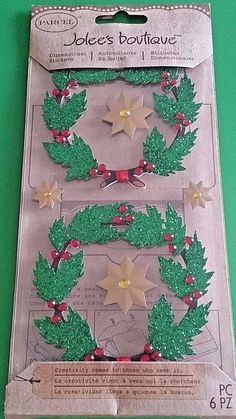 Christmas Wooden Snowman 3D Stickers Jolee/'s Boutique EK Success New