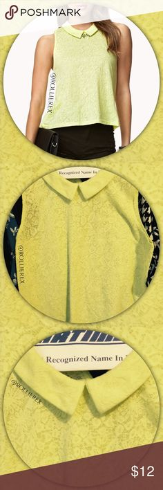 Forever 21 Lime Green Top ✅ Pit to put is 17 inches  ✅ Length is 24 inches  ✅ Excellent condition   ✅ Loose, flowing top Forever 21 Tops Blouses