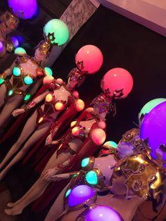 b8553a23ce5 Led Luminous Sexy Women Ballroom Costume LED DJ Nightclub Party Catwalk  Show Party costume LED ball