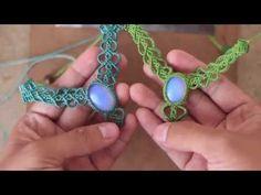 tutorial avanzado! collar en macrame - YouTube http://theartemanual.com/