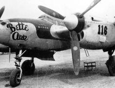 "P-38L-1 #116 ""Bette Ann"" flown by Capt. John ""Jack"" Tilley 431st FS ace at Lingayen A/F, Luzon May 1945."