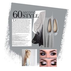 """""""Ombré Neutral Tones"""" by vitrowski ❤ liked on Polyvore featuring WearAll, Balmain, ombre and 60secondstyle"""