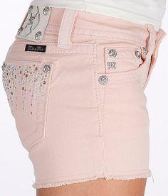Miss Me Frayed Hem Stretch Short - Women's Shorts | Buckle