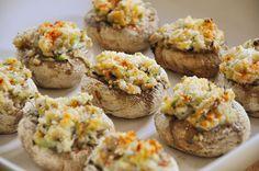 Shrimp stuffed mushroom