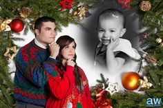 HAHA Epic Cheesy Christmas Photos